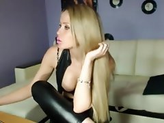 Amateur, Big Boobs, Blonde, Russian, Webcam