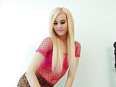 Blonde, Lingerie, Teen