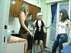 Amateur, Italian, Lesbian, Old and Young, Threesome
