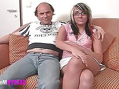 Old and Young, Amateur, Interracial, Teen