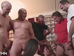 Amateur, German, Old and Young, Orgy