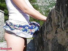 Amateur, Upskirt, Public, Outdoor