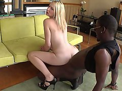 Blonde, Fucking, Hardcore, Interracial