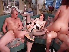 Double Penetration, German, Group Sex, MILF