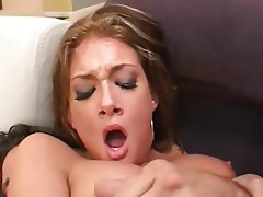 Anal, Big Boobs, Brunette, Double Penetration, Facial