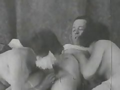 Amateur, Babe, Hairy, Threesome, Vintage