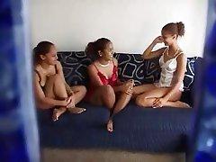 Amateur, Lesbian, Threesome