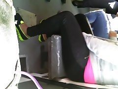 Amateur, Old and Young, POV, Spandex