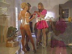 Lesbian, Threesome, Big Boobs, Blonde, Brunette